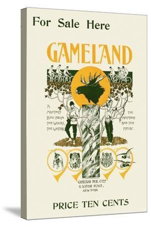 For Sale Here, Gameland--Stretched Canvas Print