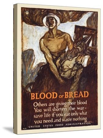 Blood or Bread-Henry Raleigh-Stretched Canvas Print