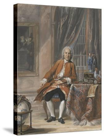 Portrait of Joan Jacob Mauricius, Governor-General of Suriname-Cornelis Troost-Stretched Canvas Print