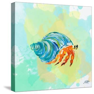 Watercolor Sea Creatures II-Julie DeRice-Stretched Canvas Print