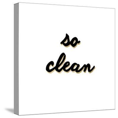 So Clean-Anna Hambly-Stretched Canvas Print