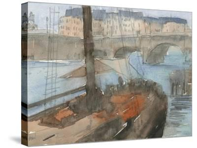 Venice Watercolors IV-Samuel Dixon-Stretched Canvas Print
