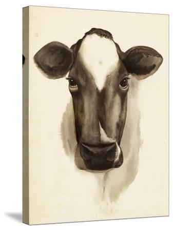 Watercolor Barn Animals IV-Grace Popp-Stretched Canvas Print