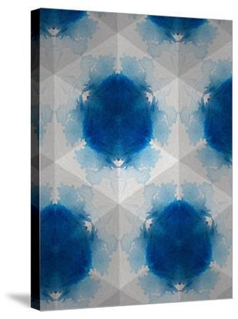 Sapphire Frost VI-Renee W^ Stramel-Stretched Canvas Print