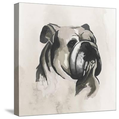 Inked Dogs III-Grace Popp-Stretched Canvas Print