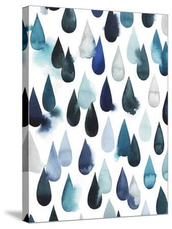 Water Drops I-Grace Popp-Stretched Canvas Print