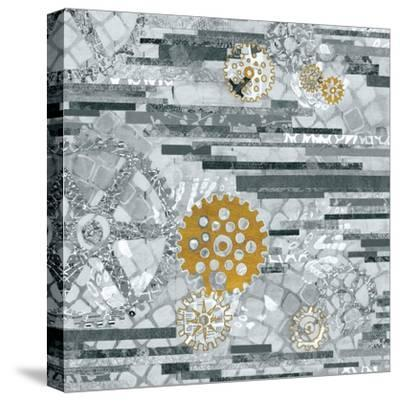 EU Timetable II BW-Kathy Ferguson-Stretched Canvas Print