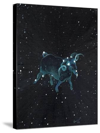 Star Sign - Aires, 2016-Vincent Alexander Booth-Stretched Canvas Print