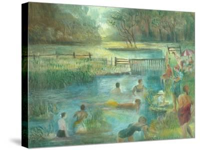 Simmers, Simonsbath-Mary Kuper-Stretched Canvas Print