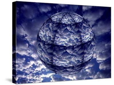 Concept of 3D Earth Climate-Jaynes Gallery-Stretched Canvas Print
