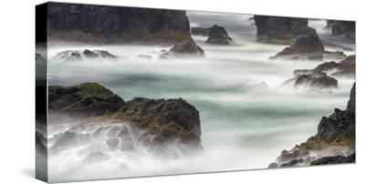Famous Cliffs and Sea Stacks of Esha Ness, Shetland Islands-Martin Zwick-Stretched Canvas Print
