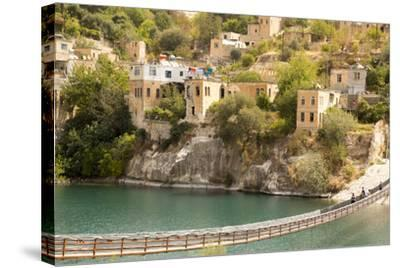 Halfeti, a Small Farming Region on the East Bank of the River Euphrates in Sanliurfa Province-Emily Wilson-Stretched Canvas Print