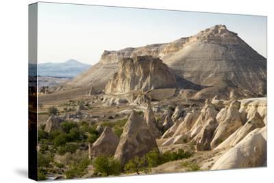 Turkey, Cappadocia Is a Historical Region in Central Anatolia. Fairy Chimneys-Emily Wilson-Stretched Canvas Print