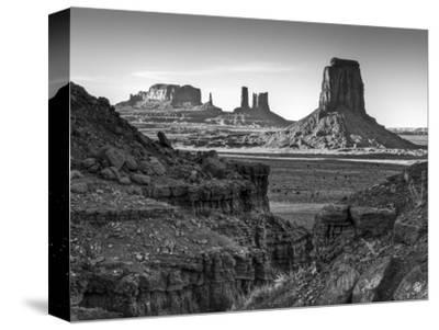 USA, Utah, Monument Valley, View of Buttes-Ann Collins-Stretched Canvas Print