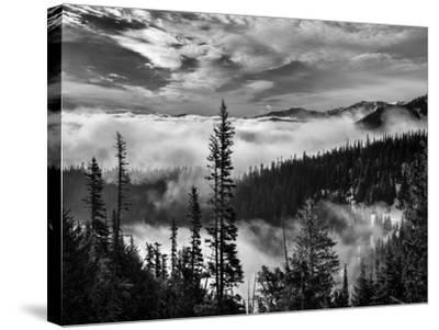 Washington, Olympic National Park. View Northeast from Road to Hurricane Ridge-Ann Collins-Stretched Canvas Print