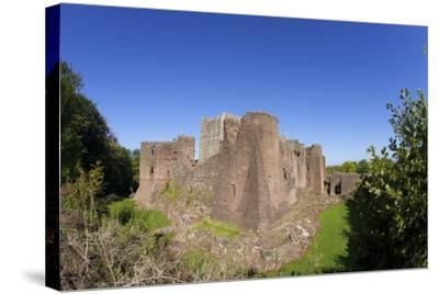 Goodrich Castle, Forest of Dean, Herefordshire, England, United Kingdom, Europe-Peter Barritt-Stretched Canvas Print