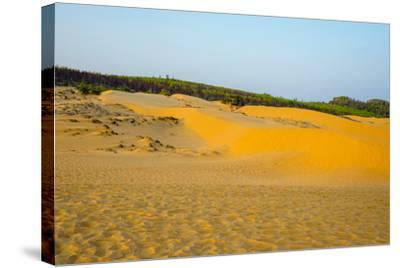 Red Sand Dunes at Mui Ne, Phan Thiet, Binh Thuan Province, Vietnam, Indochina, Southeast Asia, Asia-Jason Langley-Stretched Canvas Print