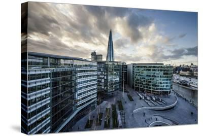 View from City Hall Rooftop over London Skyline, London, England, United Kingdom, Europe-Ben Pipe-Stretched Canvas Print
