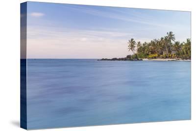 Muri Lagoon Sunrise, Rarotonga, Cook Islands, South Pacific, Pacific-Matthew Williams-Ellis-Stretched Canvas Print