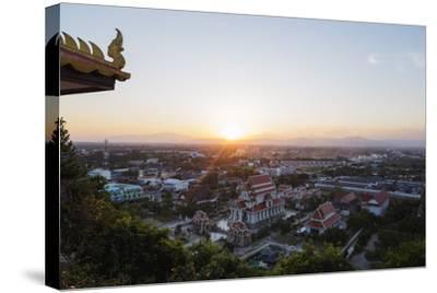 Wat Thammikaram Worawihan Temple, Prachuap Kiri Khan, Thailand, Southeast Asia, Asia-Christian Kober-Stretched Canvas Print