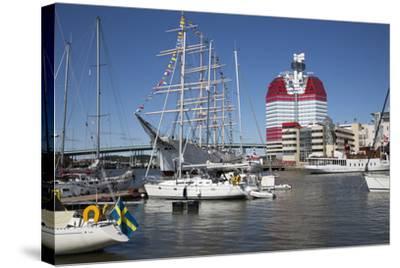 Lilla Bommen Harbour-Stuart Black-Stretched Canvas Print
