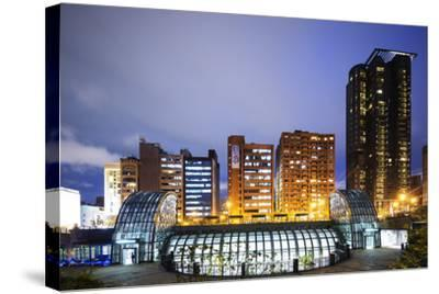 Daan Park Subway Station, Taipei, Taiwan, Asia-Christian Kober-Stretched Canvas Print