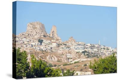 Rock-Cut Topography at Uchisar, Cappadocia, Anatolia, Turkey, Asia Minor-Christian Kober-Stretched Canvas Print