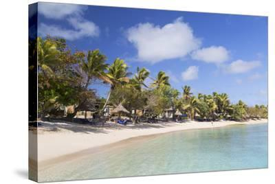 Blue Lagoon Resort, Nacula Island, Yasawa Islands, Fiji, South Pacific, Pacific-Ian Trower-Stretched Canvas Print