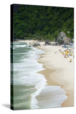 Prainha Beach Near the Olympic Site in Barra Da Tijuca (Recreio Dos Bandeirantes), Brazil-Alex Robinson-Stretched Canvas Print