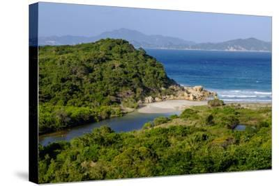 Vinh Hy Bay, Nui Cha National Park, Ninh Thuan Province, Vietnam, Indochina, Southeast Asia, Asia-Nathalie Cuvelier-Stretched Canvas Print
