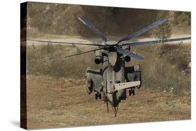 Rear View of an Israeli Air Force Ch-53 Yasur Helicopter-Stocktrek Images-Stretched Canvas Print