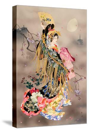 Tsuki No Uta-Haruyo Morita-Stretched Canvas Print