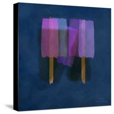 Abstract Soft Blocks 01 II-Joost Hogervorst-Stretched Canvas Print