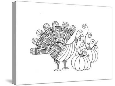 Thanksgiving Turkey-Neeti Goswami-Stretched Canvas Print