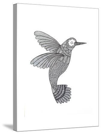 Bird Hummingbird-Neeti Goswami-Stretched Canvas Print