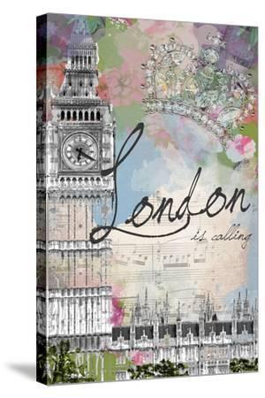London Is Calling-Jodi Pedri-Stretched Canvas Print