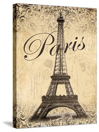 Paris-Todd Williams-Stretched Canvas Print