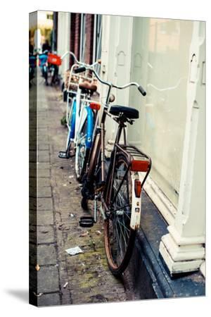 Rusty Bike-Erin Berzel-Stretched Canvas Print