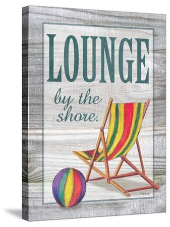 Lounge by the Shore-Todd Williams-Stretched Canvas Print