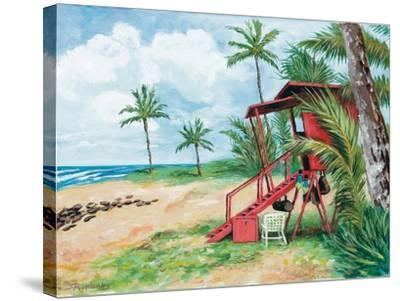 Ocean View-Todd Williams-Stretched Canvas Print