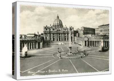 Basilica S Pietro-Alan Paul-Stretched Canvas Print