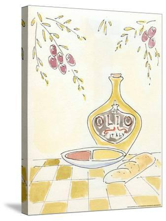 Olio Italy-Alan Paul-Stretched Canvas Print