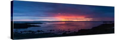 Panorama, Akranes, Sunset-Catharina Lux-Stretched Canvas Print