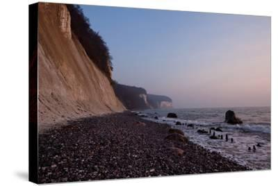 The Baltic Sea, National Park Jasmund, Chalk Rocks-Catharina Lux-Stretched Canvas Print