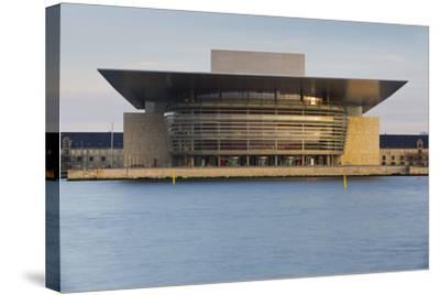 Opera, Havnebussen, Copenhagen, Denmark-Rainer Mirau-Stretched Canvas Print