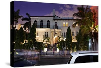 Hotel 'The Villa by Barton G.', Former Residence of Versace, Miami South Beach-Axel Schmies-Stretched Canvas Print