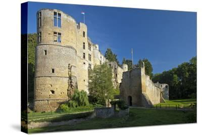 Luxembourg, Beaufort Castle, Ruin-Chris Seba-Stretched Canvas Print