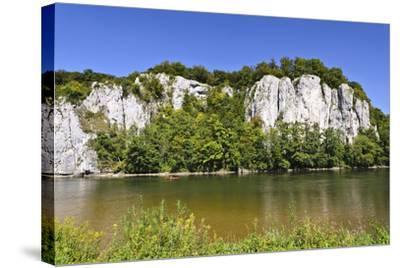 Germany, Bavaria, Lower Bavaria, Danube Valley, Weltenburg-Udo Siebig-Stretched Canvas Print