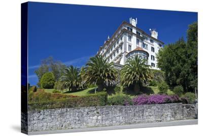 North Portugal, Viana Do Castelo, Monte De Santa Luzia, Mountain Hotel-Chris Seba-Stretched Canvas Print