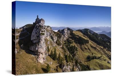 Germany, Bavaria, Upper Bavaria, Mangfall (Mountain Range), Wendelstein Region-Udo Siebig-Stretched Canvas Print